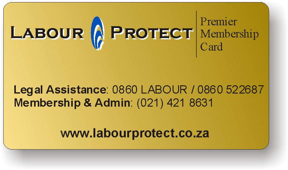Become a member of labour protect and we will send you personalized